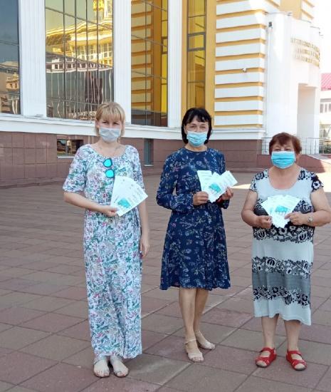 Уличная акция «Книга на здоровье!» (прошла.. _ (Закрытая группа) Информация на сайт НБ